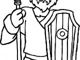 Rome Barbarian Coloring Page