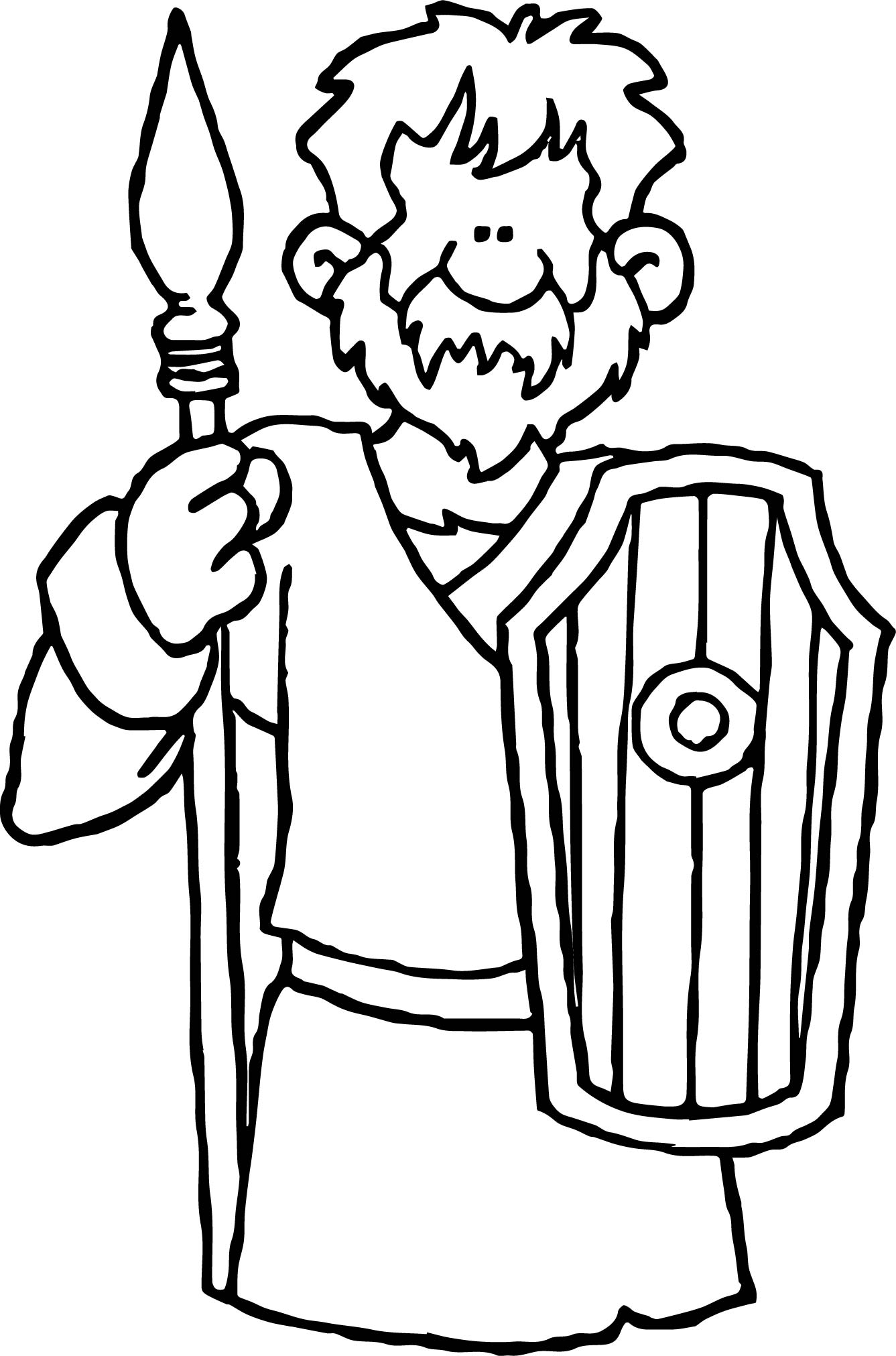 rome barbarian coloring page wecoloringpage