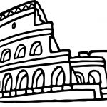 Rome Coloring Page