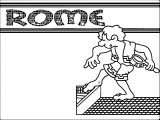 Rome Coloring Pages