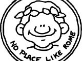 Rome Money Coloring Page