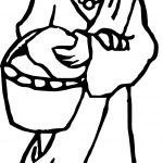 Rome Woman Coloring Page