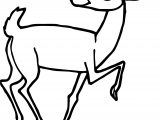 Sinister Antelope Coloring Page