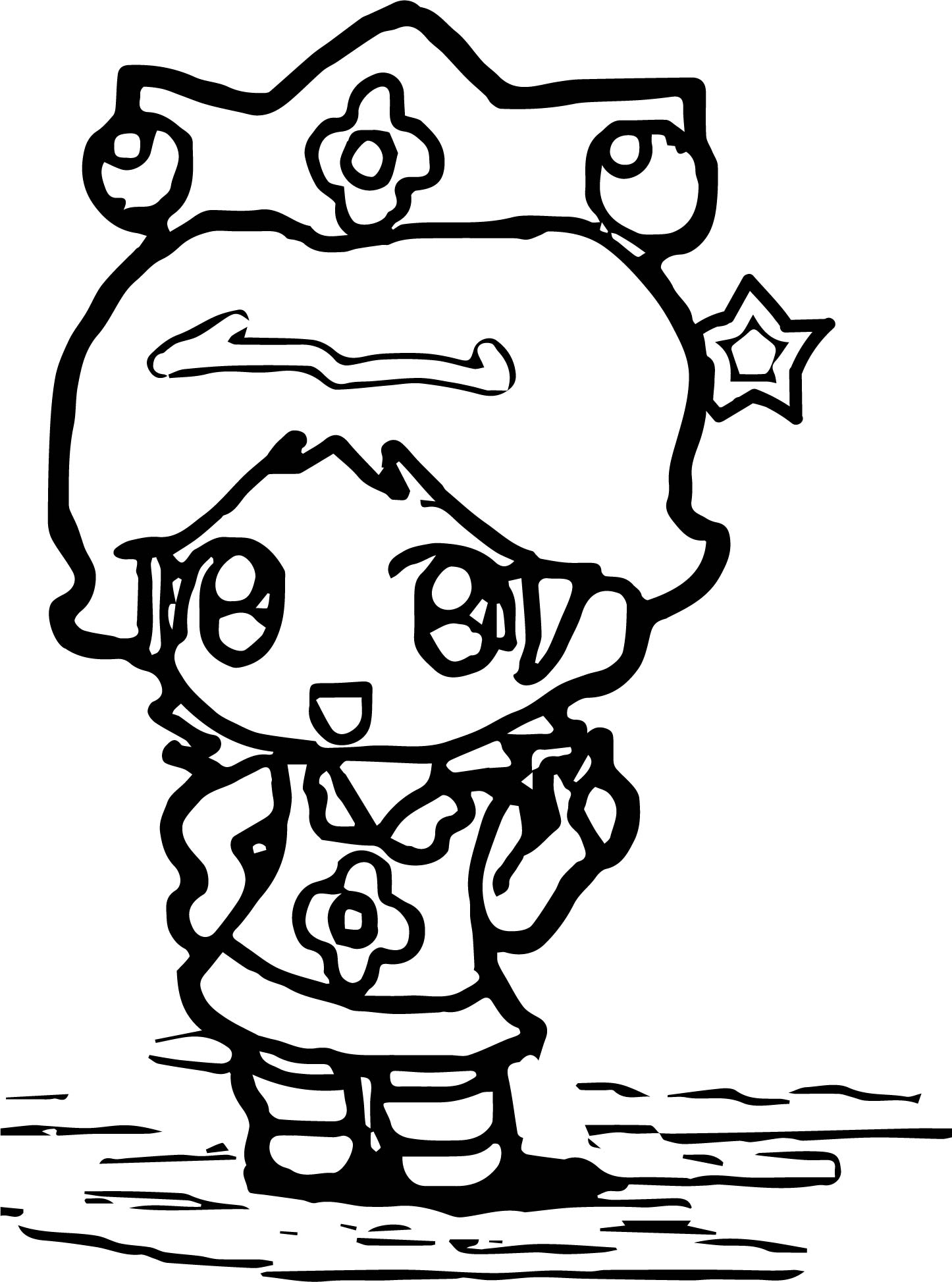 Star Baby Daisy Coloring Page