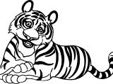 Tiger What Coloring Page