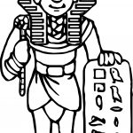 Tut Ank Hamun Coloring Page