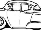 Vintage Antique Cartoon Car Coloring Page