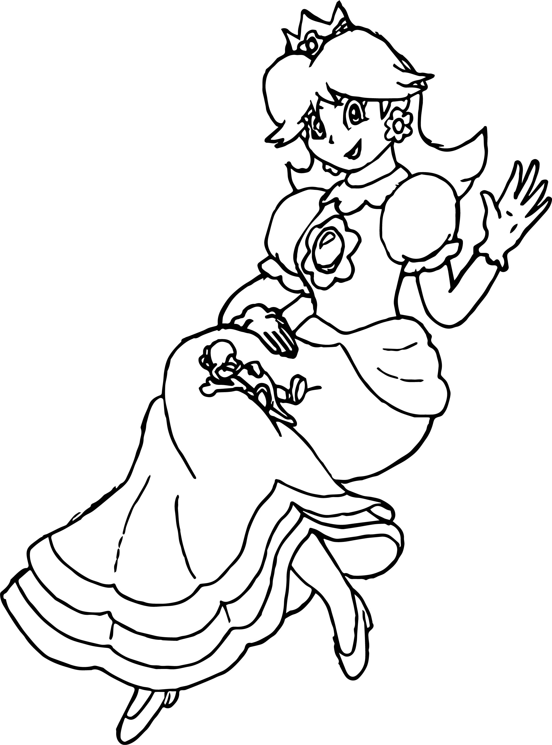 Adult Daisy Coloring Page