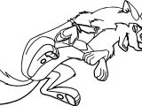 Aleu Balto Laugh Coloring Page