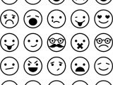 All Emoticons Emology Smiley Coloring Page