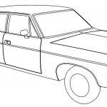 Amc Matador Car Coloring Page