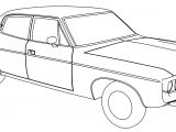 Amc Matador Car Coloring Page