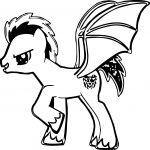 American Dragon Pony Coloring Page