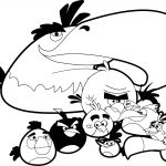Angry Birds Anyone Coloring Page