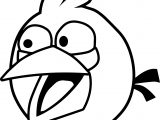 Angry Birds Blue Bird Coloring Page