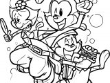 Animaniacs Beauty Coloring Page