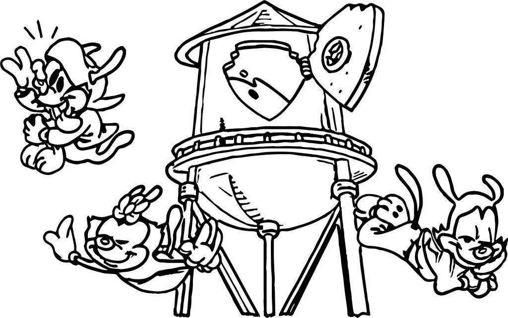 Animaniacs Color Coloring Page | Wecoloringpage.com