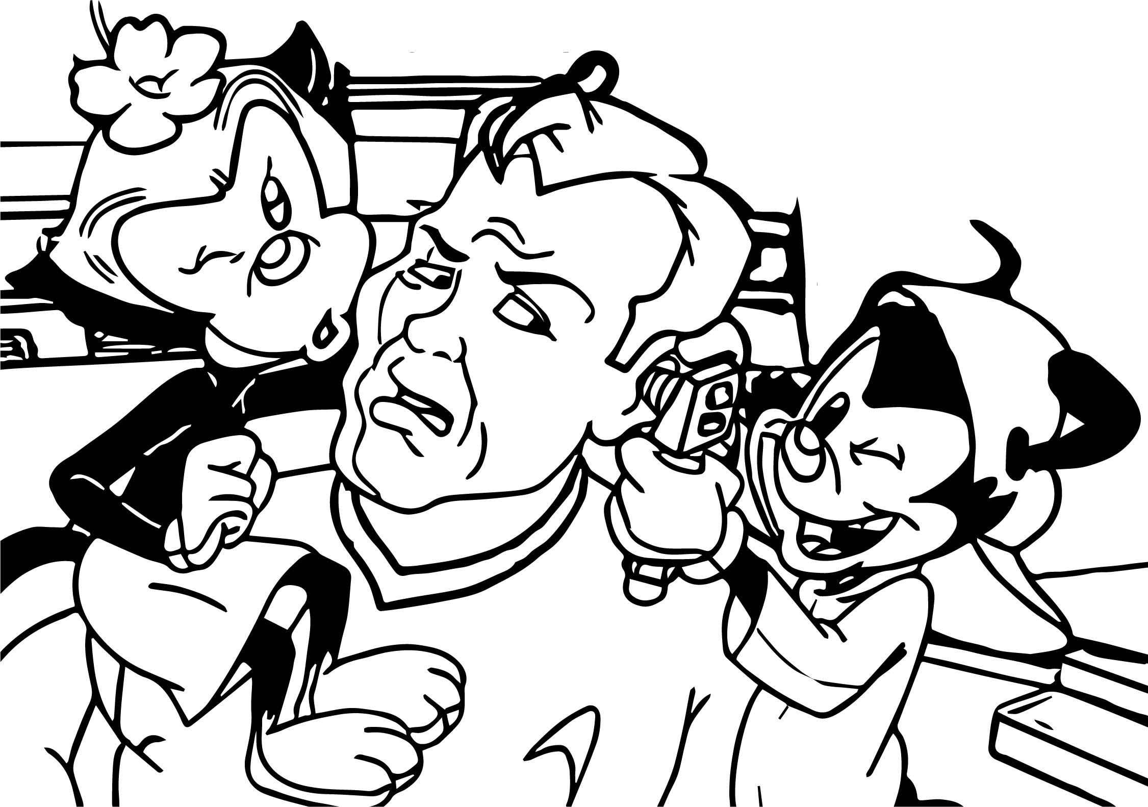 Animaniacs Doctor Coloring Page