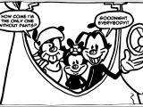 Animaniacs Futurama Coloring Page