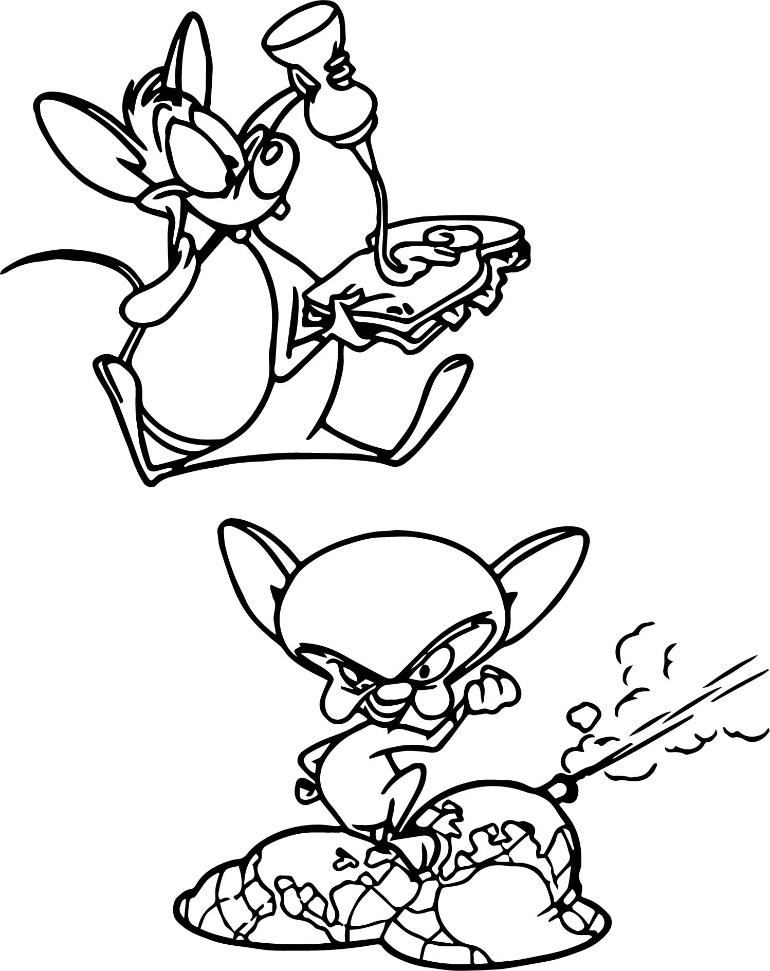 Animaniacs The Great Edgar Hunt Coloring Pages