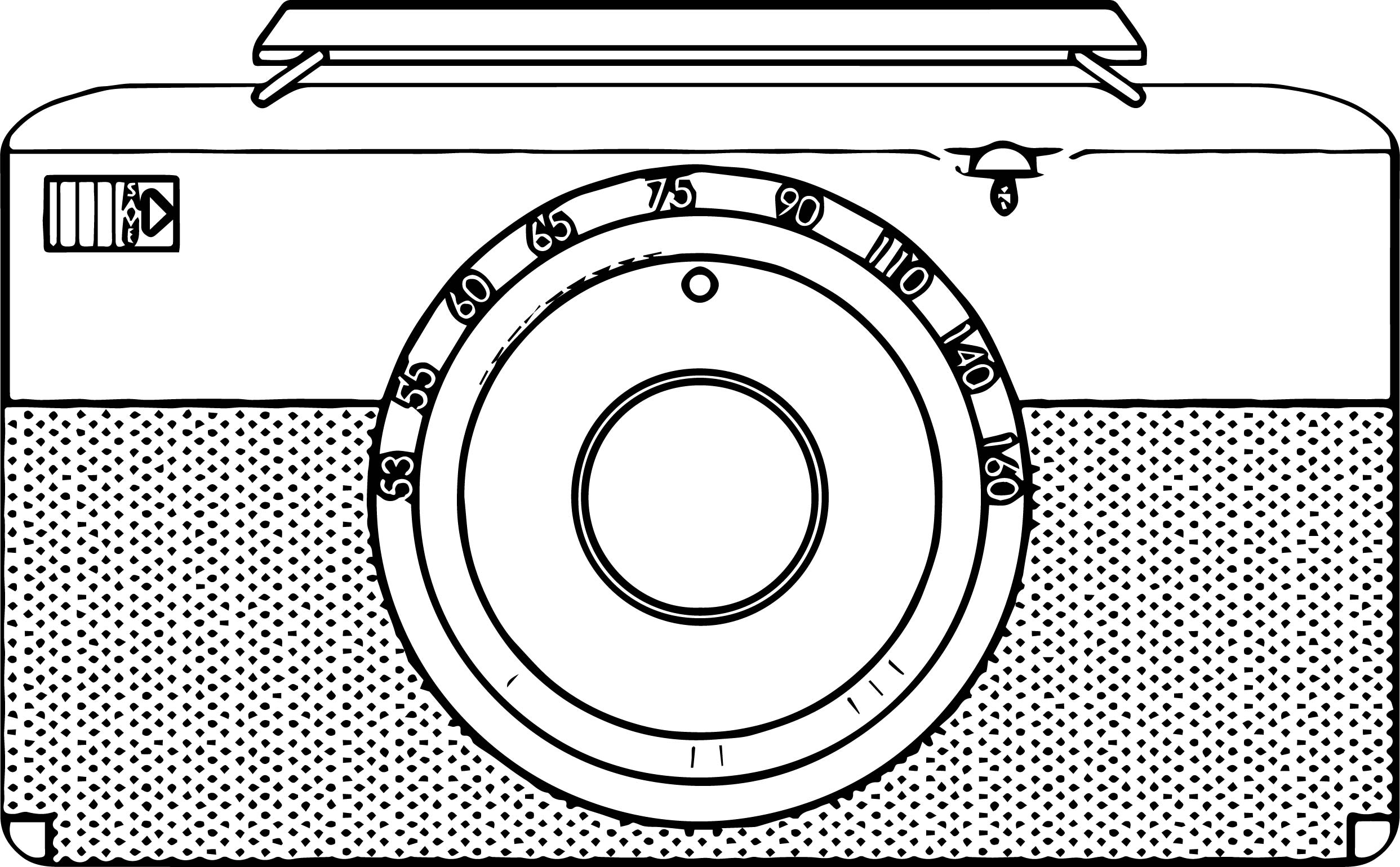 Any Radio Coloring Page