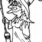 Any Witch Coloring Page