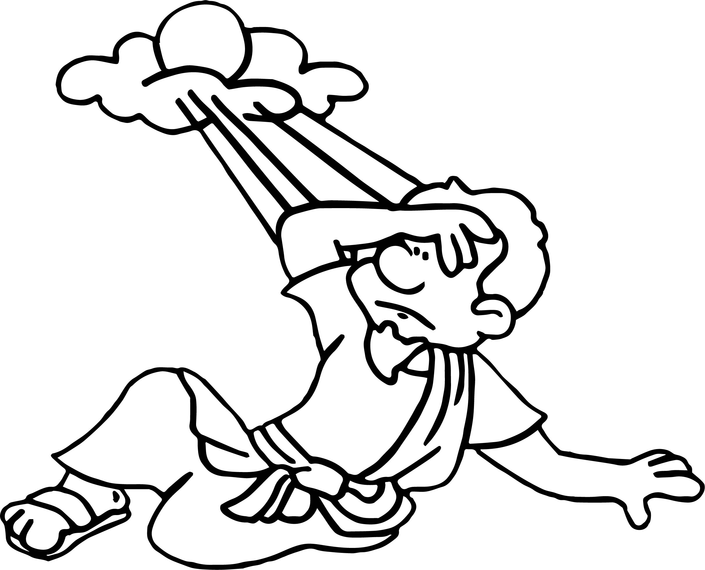 Apostle paul cloud shine coloring page for Apostle paul coloring page