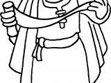 Apostle Paul Read Coloring Page