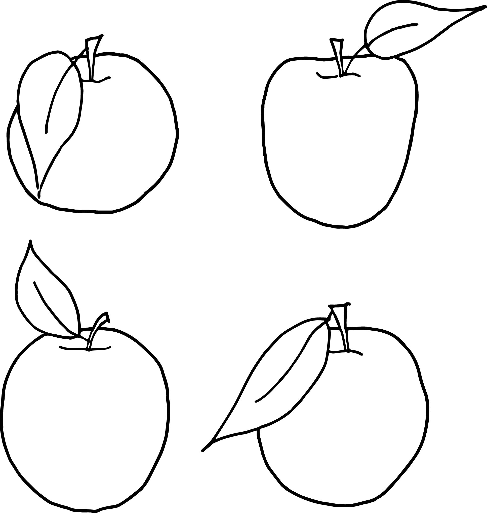 Apples For Family Tree Template