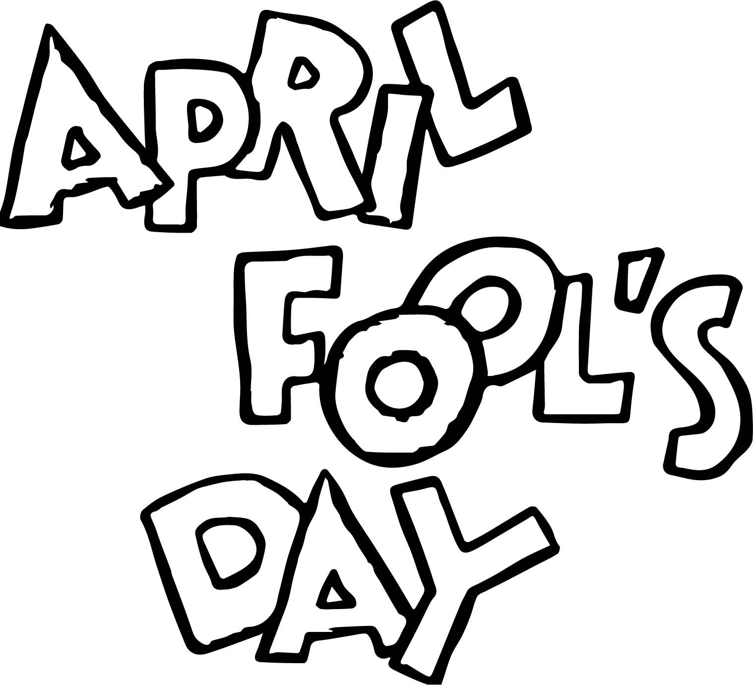 april fools day coloring page wecoloringpage