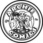 Archie Comics Circle Coloring Page