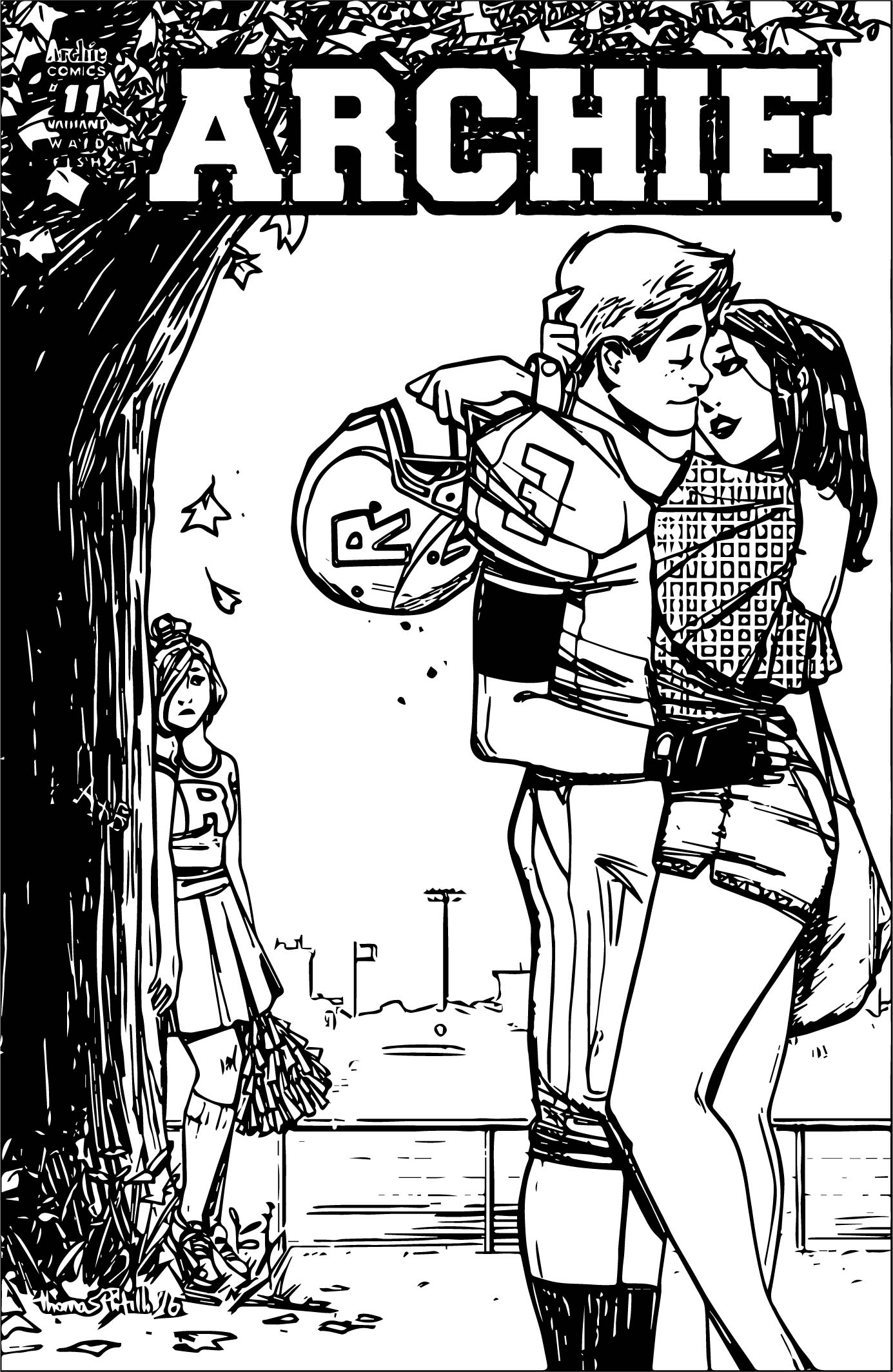 Archie Comics Love And Sad Coloring Page
