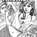 Archie Comics Picture Draw Coloring Page