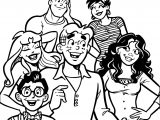 Archie Conclusion Issue Coloring Page