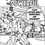 Archie Cove Pureheart Powerful Coloring Page