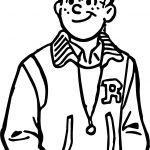 Archie Lede Coloring Page