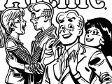 Archie Married Life Coloring Page