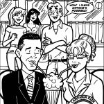 Archie Palin Obama Issue Coloring Page