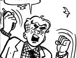 Archie People Coloring Page