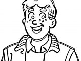 Archie Turn Around Coloring Page