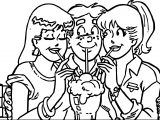 Archies Primary Coloring Page