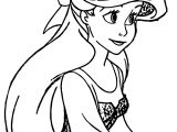 Ariel Mermaid Student Coloring Page