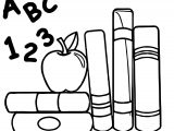 Art Education Teacher Apple Coloring Page