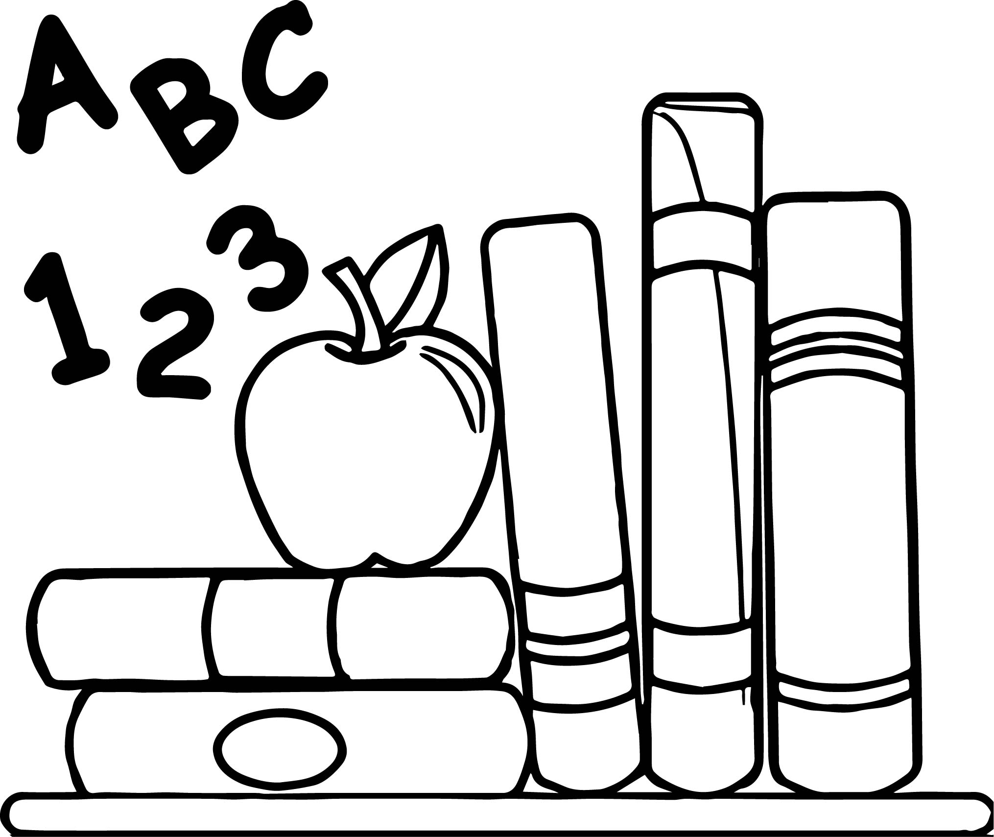 Art education teacher apple coloring page for Apple coloring pages