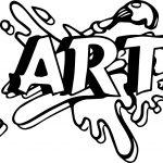 Art Logo Coloring Page