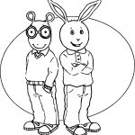 Arthur Friend Coloring Page
