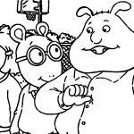 Arthur Friends Me Coloring Page