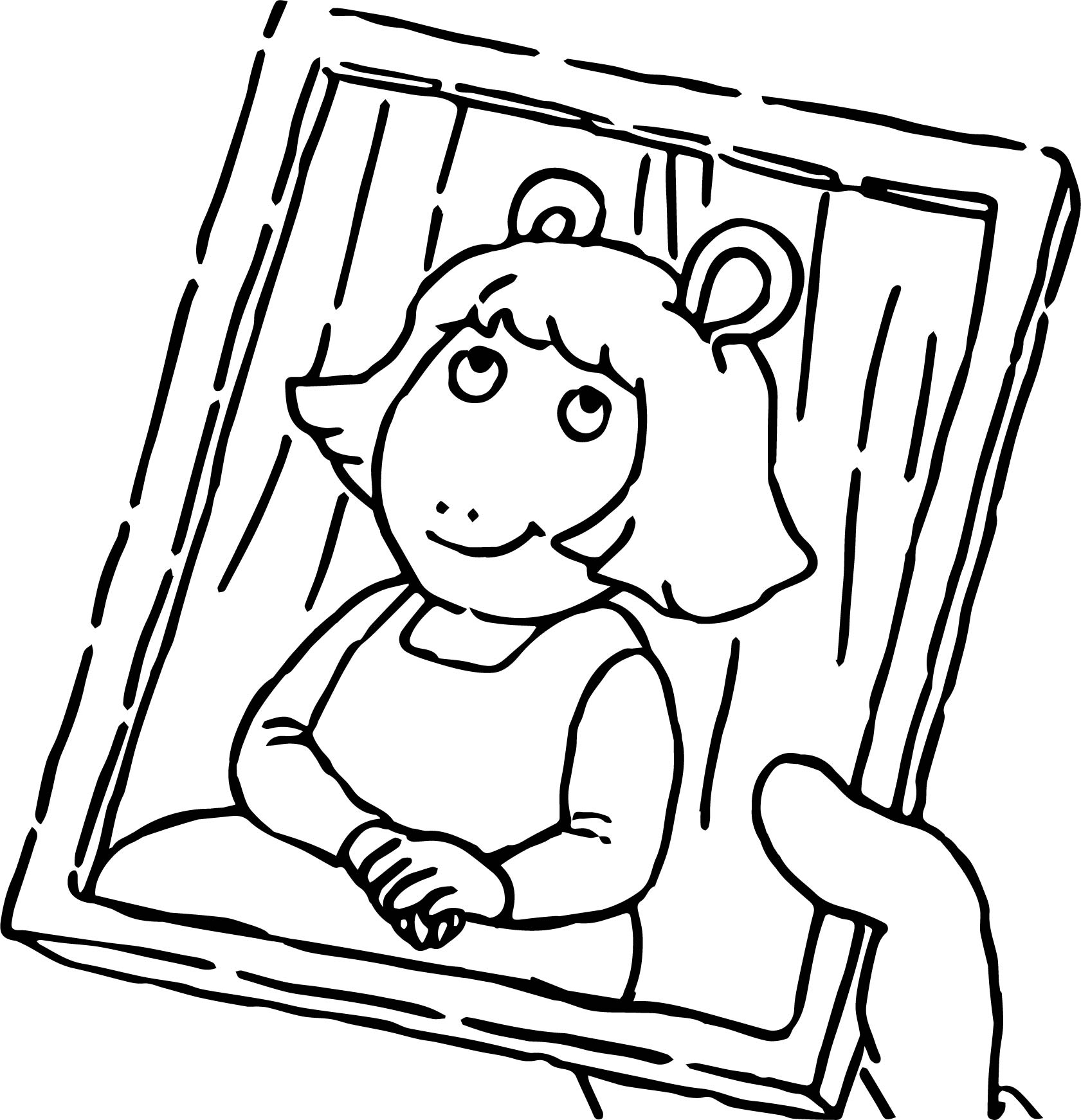 Arthur Girl Photo Coloring Page | Wecoloringpage.com