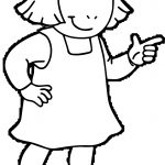 Arthur Girlfriend Coloring Page