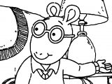 Arthur Give Coloring Page